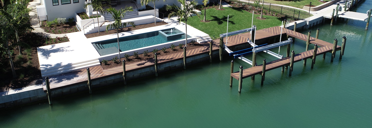 Waterfront property in Southwest Florida
