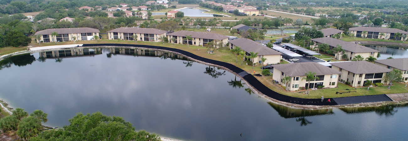 Sarasota Florida Marine Construction Company Building Seawalls