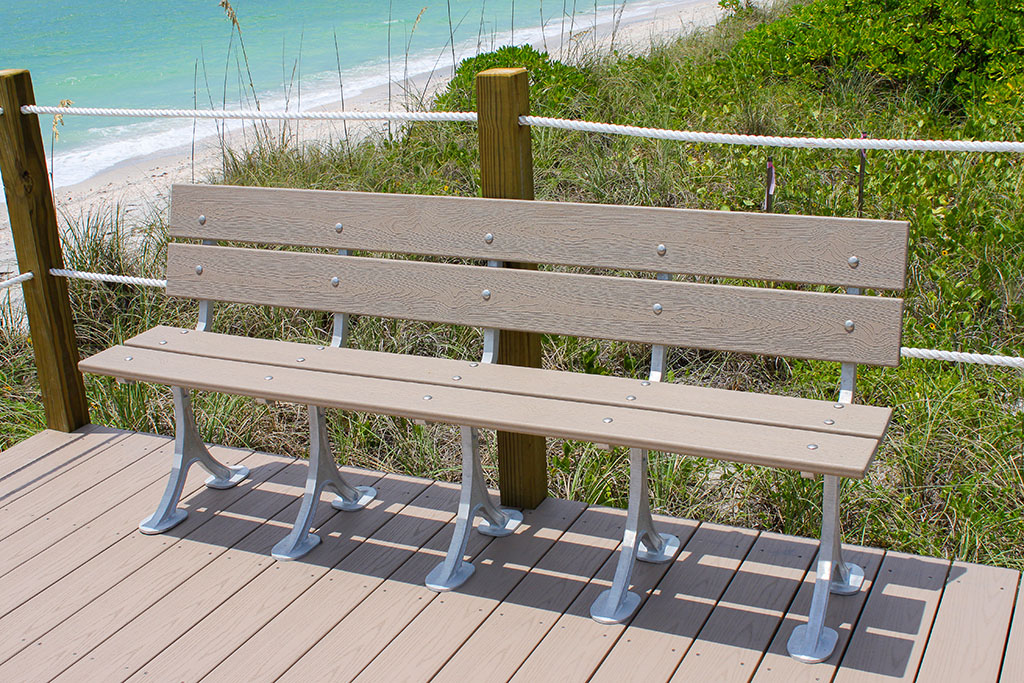Composite Aluminum Bench