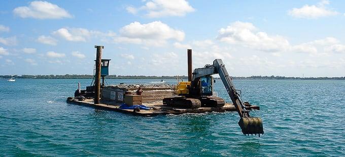 Dredge Barge