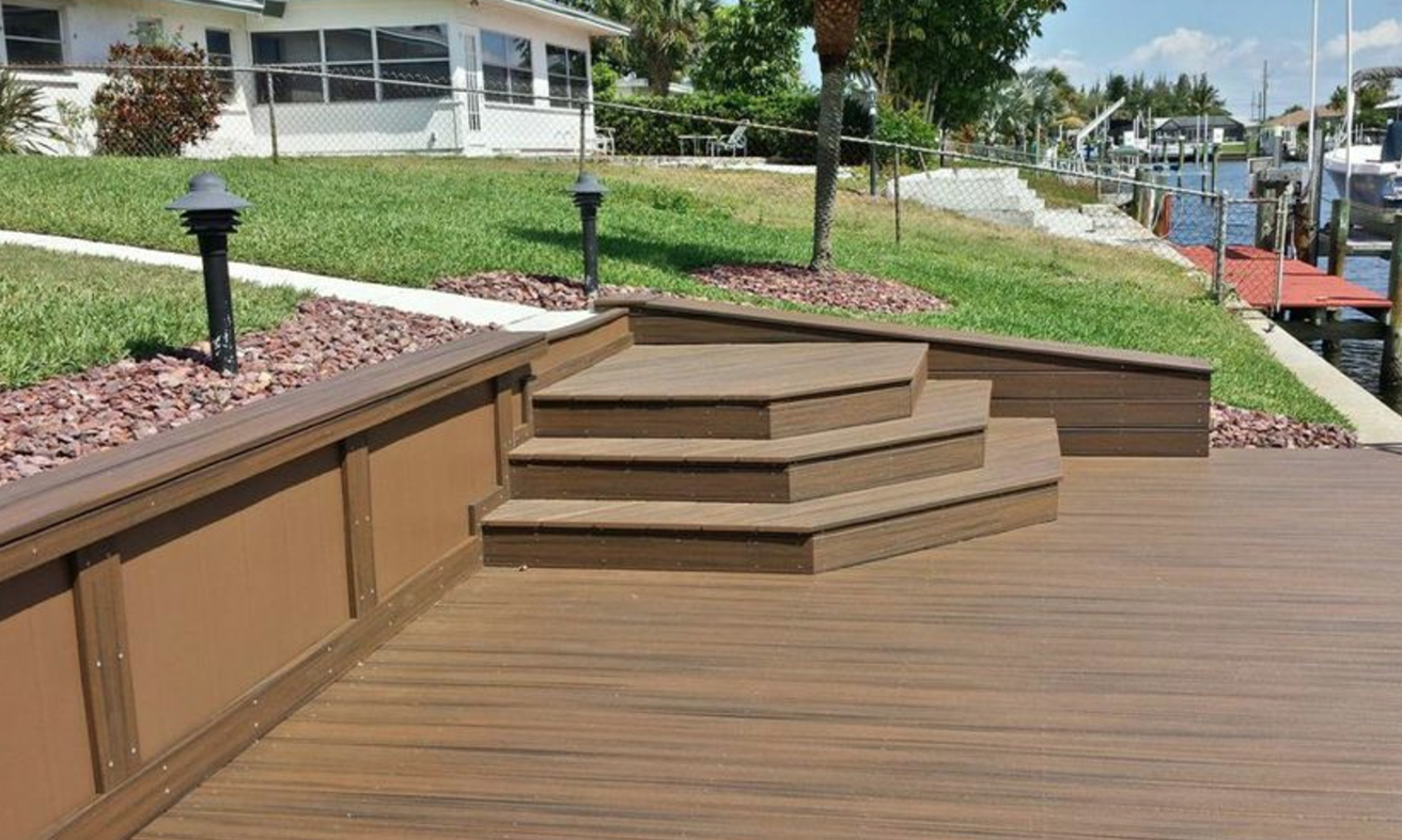 One of a kind Trex deck & dock