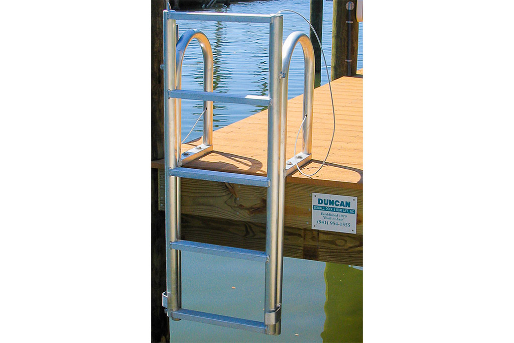 Dock Mounted Ladder