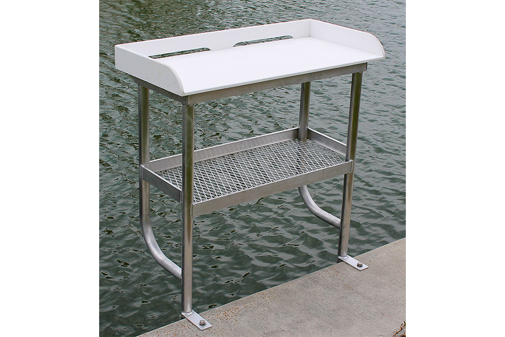 Aluminum Fish Cleaning Table